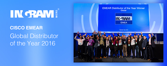 Cisco EMEAR Global Distributor of the Year 2016